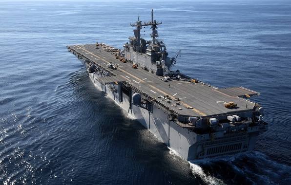 Picture weapons, ship, USS Kearsarge