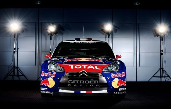 Picture Machine, Light, Citroen, Lights, Red Bull, DS3, Is, Rally, The front, Photoshoot