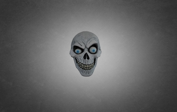 Picture eyes, green, skull, head, mask, skeleton, dark background