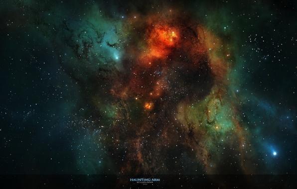 Picture stars, light, nebula, constellation, nebula, interstellar gas