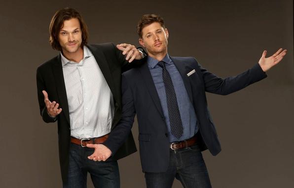 Picture actors, Dean, men, Supernatural, Jensen Ackles, Supernatural, Sam, Dean, Sam, Jared Padalecki, Jensen Ackles, Over …