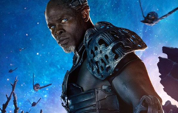 Picture marvel comics, Guardians of the Galaxy, Djimon Hounsou, korath, the Pursuer