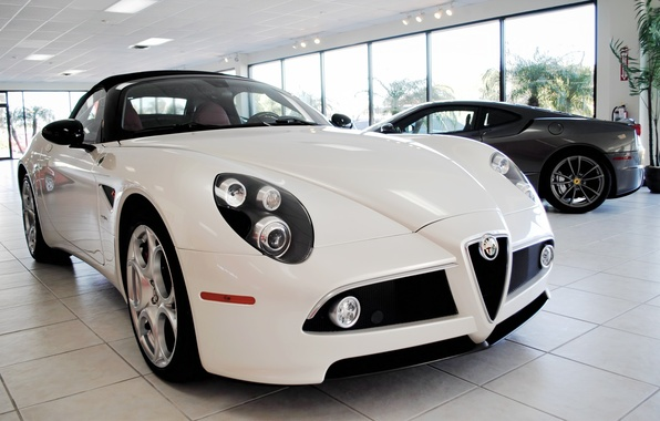 Picture Alfa, Romeo, white.color