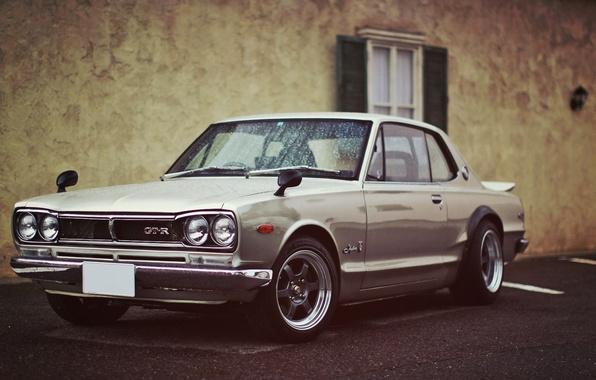 Picture Japan, Machine, Nissan, Desktop, Japan, Nissan, GT-R, Car, Car, 2000, Silver, Style, Skyline, Wallpapers, Beautiful, …