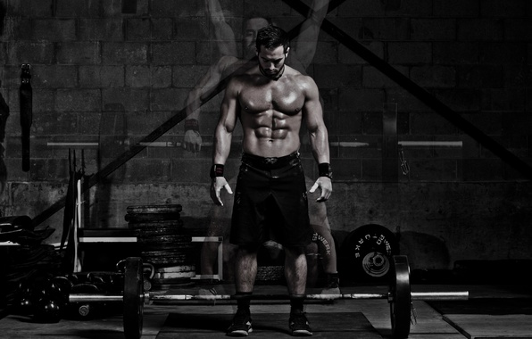Photo Wallpaper Gym Crossfit Approach