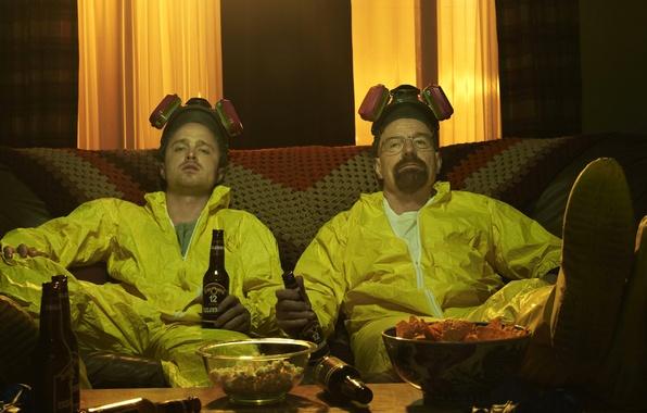 Picture the series, actors, characters, Breaking Bad, breaking bad, Bryan Cranston, Walter White, Jesse Pinkman, Aaron …