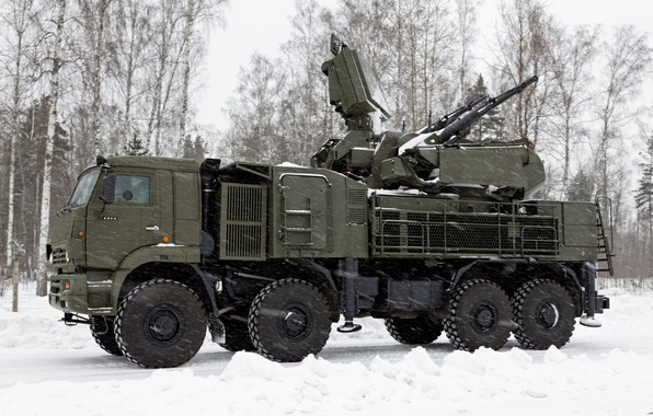Picture complex, self-propelled, Pantsir-S1, missile and gun, anti-aircraft