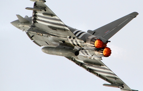 Picture the sky, flight, the plane, wings, fighter, Eurofighter Typhoon