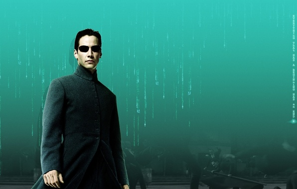 Picture Neo, Keanu Reeves, Matrix, Keanu Reeves, The Matrix