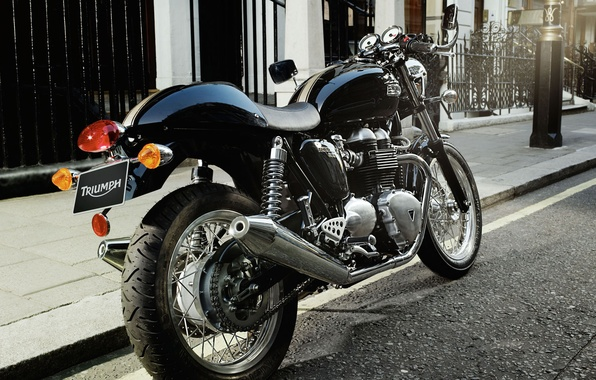Photo Wallpaper Triumph Cafe Racer Thruxton