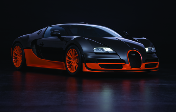 Picture supercar, Bugatti Veyron, Super Sport, 16.4, the fastest production car