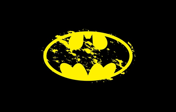 Picture background, logo, Batman, Batman, DC Comics