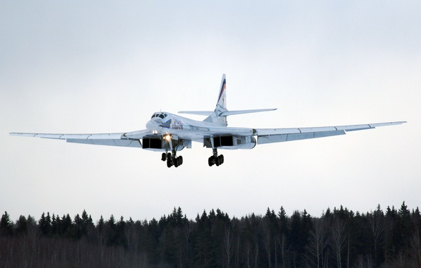 Picture Tupolev, The Tu-160, The Russian air force, Strategic aircraft, The long-range bombers