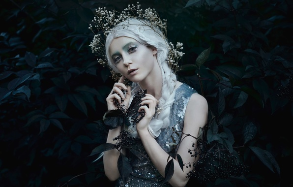 Picture berries, makeup, Bella Kotak, Starlight in dark places