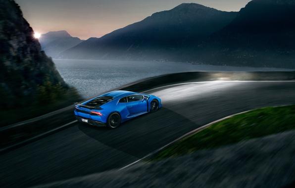 Picture Lamborghini, blue, Lamborghini, Novitec Torado, Huracan, hurakan