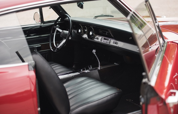 Picture seat, salon, muscle car, Fastback, Barracuda, Plymouth, 1968, Formula S
