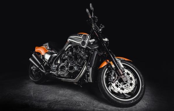 Picture yamaha, bike, VMaX