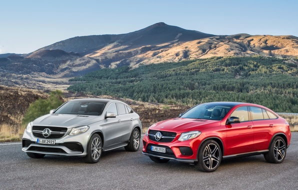 Picture Mercedes-Benz, Mercedes, 2015, GLE-class