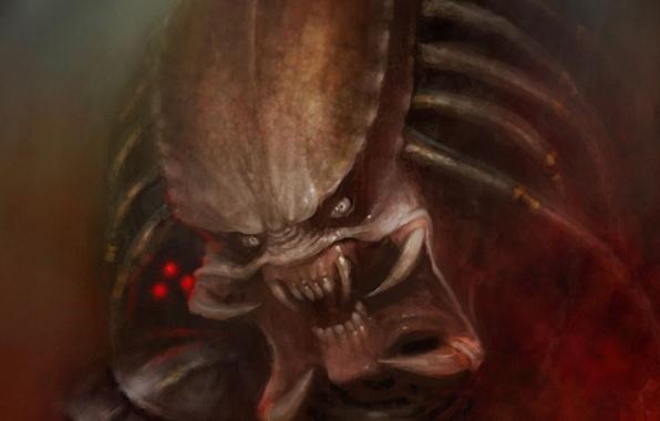 Picture figure, monster, predator, alien