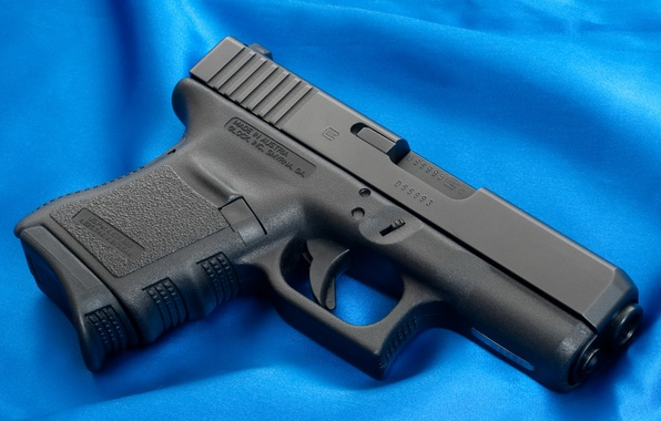 Picture Gun, Wallpaper, Background, Fabric, Weapons, Glock, Glock, Wallpapers, Canvas, Weapons, Blue