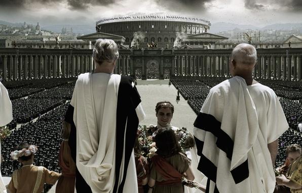 Picture Colosseum, Rome, GLADIATOR, the Senate