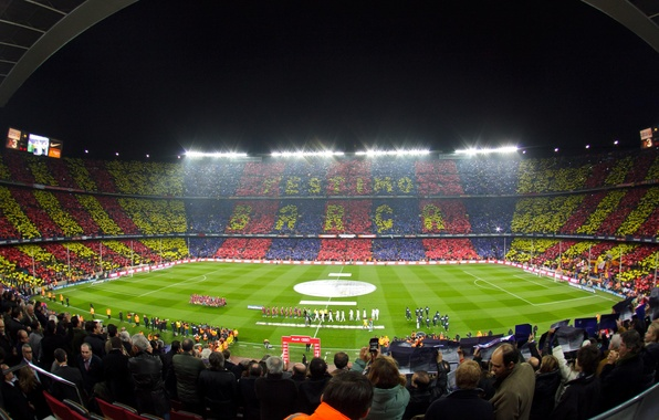 Photo wallpaper Barcelona, Barcelona, Camp Nou, Camp Nou