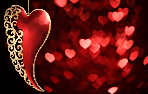 Picture love, red, mood, heart