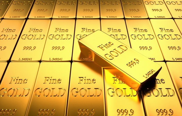 Picture Gold, A lot, Ingot, Sample