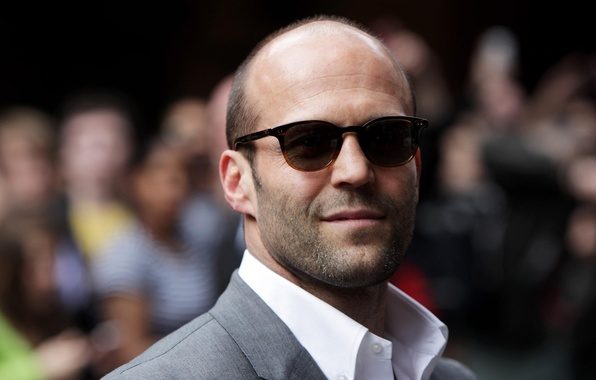 Picture glasses, actor, male, Jason Statham, Jason Statham