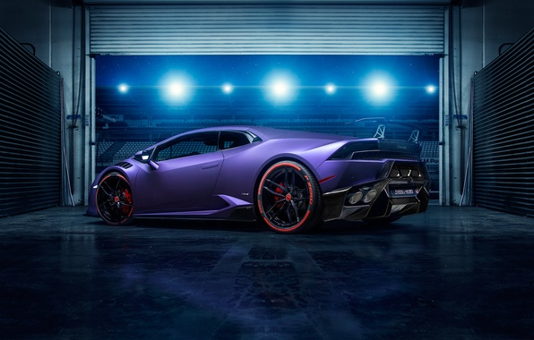 Picture garage, supercar, tuning, lamborghini Huracan, Vorsteiner Novara