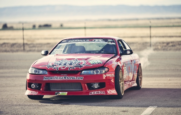 Picture red, S15, Silvia, Nissan, red, Nissan, stickers, Sylvia, decal, labels