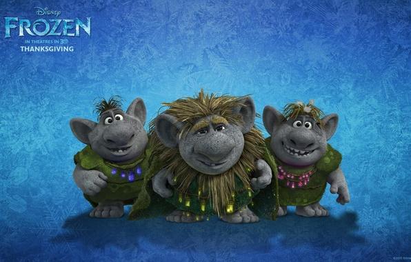 Picture cartoon, tale, Frozen, trolls, cold heart, trolls