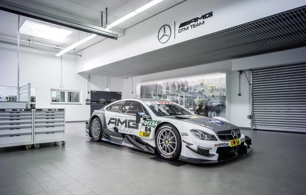 Picture Mercedes-Benz, Mercedes, AMG, DTM, DTM, C204, 2015, C-Class