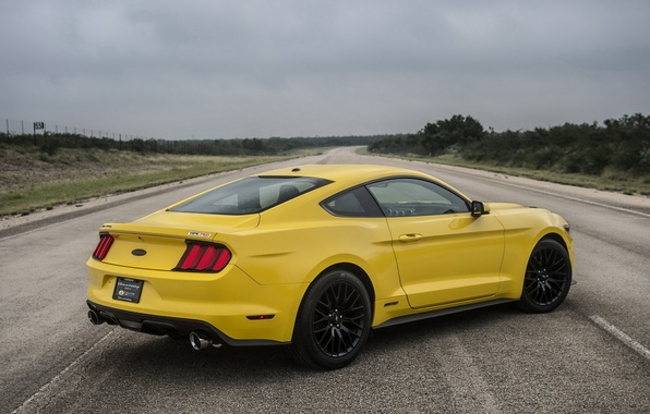 Picture Mustang, Ford, Mustang, Ford, Hennessey, Supercharged, 2015, HPE750