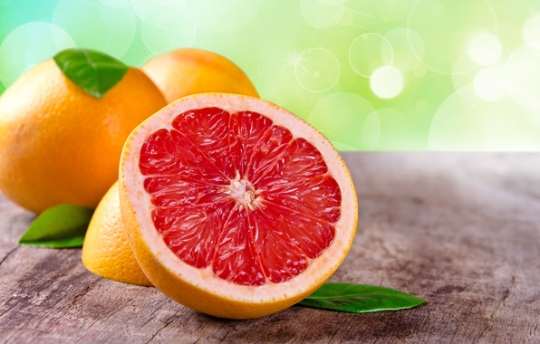 Picture leaves, background, Wallpaper, food, fruit, wallpaper, widescreen, background, grapefruit, full screen, HD wallpapers, widescreen