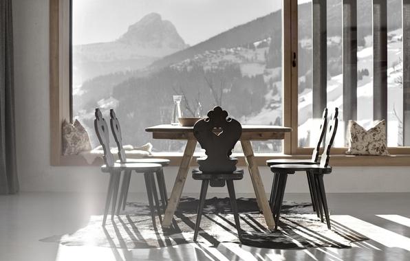 Picture design, style, room, Villa, interior, dining room