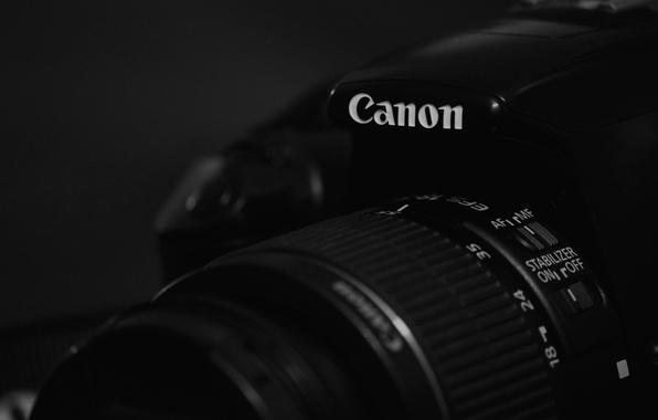 Picture black, canon, camera, camera lens, black camera, 1100d