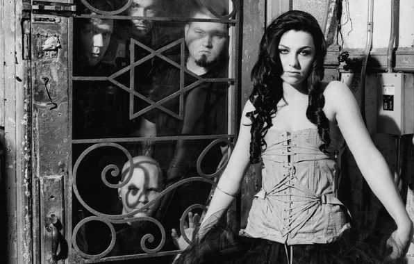 Picture Fall, Amy Lee, Evanescence