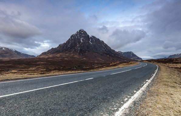 Picture road, landscape, mountain