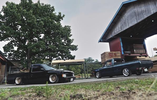 Picture pickup, pickup, datsun, Datsun