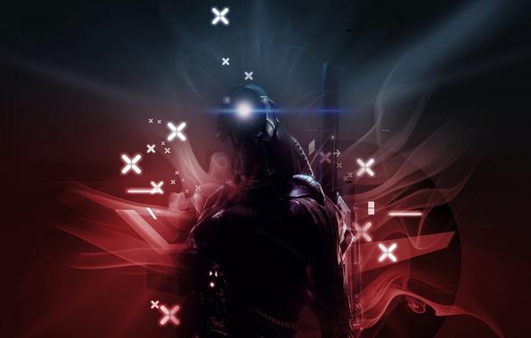 Picture Mass Effect 2, geth, Legion, true get, Legion