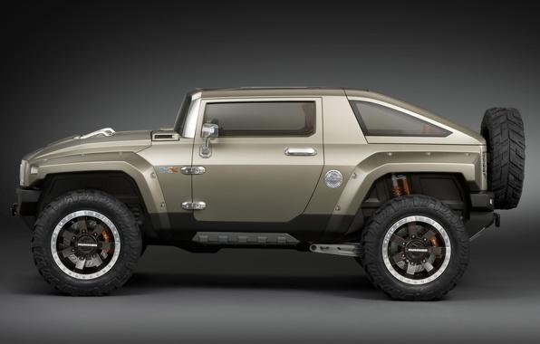 Picture machine, jeep, Hamer