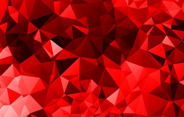 Wallpaper line, red, pink, wine, black, triangles, angle ...