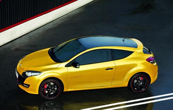 Picture Sport, Machine, Renault, Megan, Car, Yellow, Car, Reno, Yellow, Sport, Megane, RS 250, RS 250