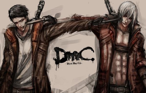 Picture art, devil may cry, dante, Dmc, fan