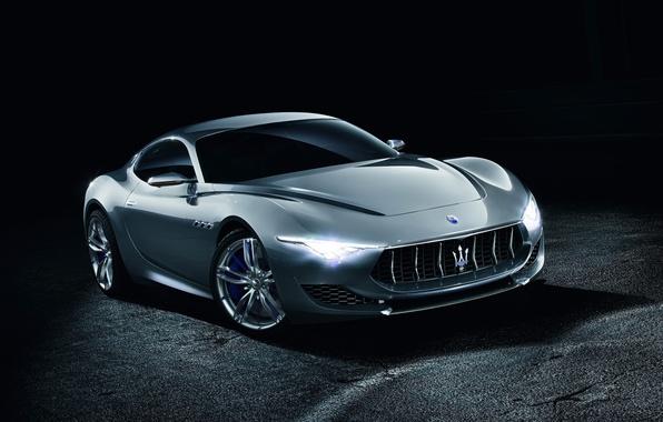 Picture Concept, Maserati, the concept, Maserati, the front, Alfieri