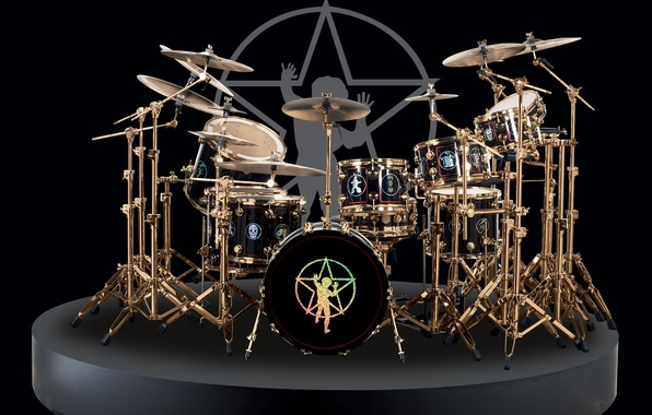 Picture style, plates, drums, drummer