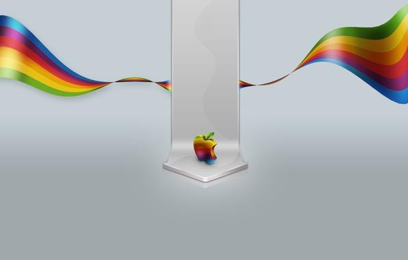 Picture color, apple, Apple, minimalism, 155, mac