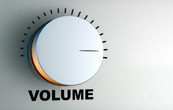Picture the volume, level, controller