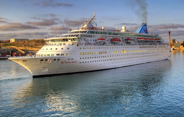 Picture water, photo, ship, cruise liner